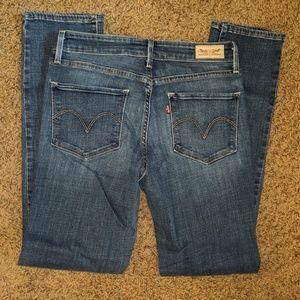 Levi's Mid-rise Skinny Jeans Size 6